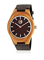 Earth Wood Reloj de cuarzo Unisex Aztec 43 mm