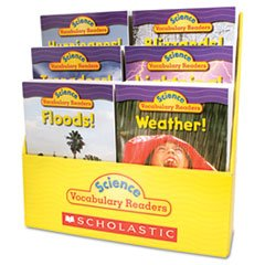 * Science Vocabulary Readers: Wild Weather, 36 books/Six Titles and Teaching Guide *