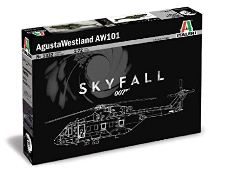 Italeri - I1332 - Maquette - Aviation - Aw-101 Skyfall