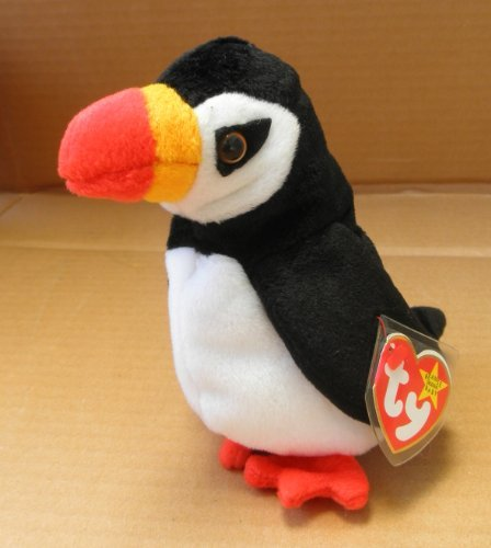 TY Beanie Babies Puffer the Puffin Stuffed Animal Plush Toy - 6 inches tall - 1
