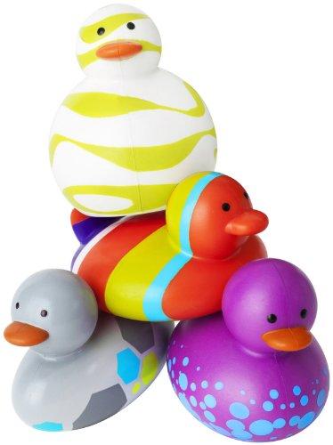 Boon 4 Count Odd Ducks, Purple