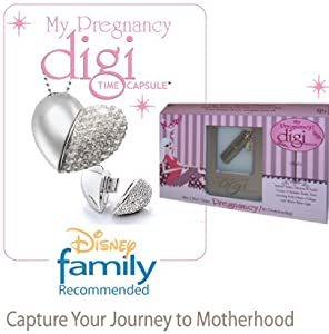 """$10 SAVINGS on the BEST SELLING """"Pregnancy Journal Suite"""" - MY PREGNANCY DIGI TIME CAPSULE; The Only All-In-One Award Winning """"Pregnancy Suite"""" on the Market. Includes Pregnancy Journal, letters to baby, Guided Monthly Questions, Media Center for your Pregnancy photos & videos, Old Wives Tales Quiz, Create a Family Tree, Monthly Belly Bump Photo Collage, Daddy's Corner, Create Your Own Pregnancy Video in Under 5 Minutes and So Much More!"""