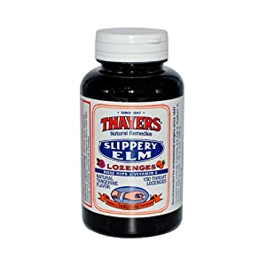 Thayers Slippery Elm Lozenges Tangerine - 150 Lozenges , Thayers , Cough/Cold, Health Supplements
