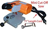 Stalwart 75-11024 Mini Cut-Off Miter Power Saw, 110 Volt