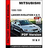 Mitsubishi Lancer Evolution IV V 1996 1997 1998 1999 Service Repair Workshop Manual