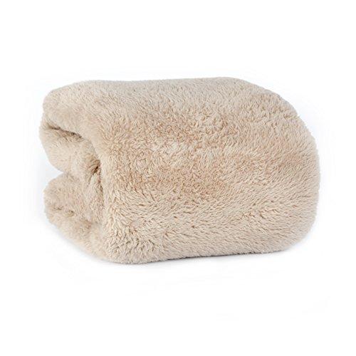 Extra fluffy throw blanket chino home garden linens bedding