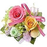 花由 プリザーブドフラワー パレット カラフル フラワーギフト ブリザードフラワー 誕生日プレゼント 女性 結婚祝い お祝い 花