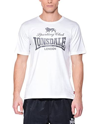 Lonsdale Men Regular Fit T-Shirt [Bianco]