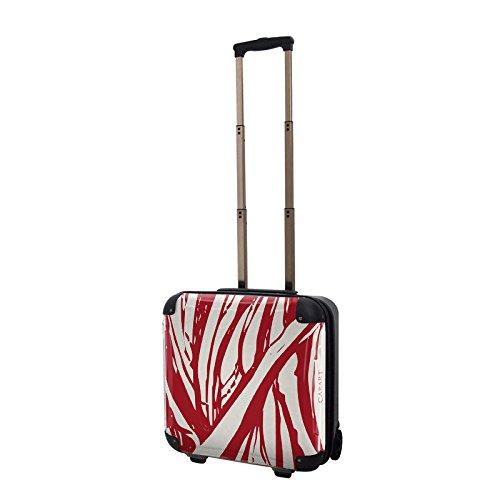 キャラート アートスーツケース ベーシック ソフィスティ(ダークレッド) ジッパー2輪 機内持込 CRB01-035B