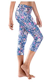 WITH Women's Capris Cactus Flower Power X-Small