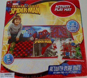 MARVEL SPIDER SENSE SPIDER-MAN ACTIVITY PLAY MAT - 1