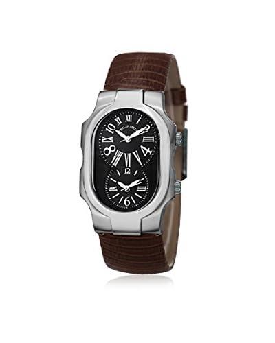 Philip Stein Women's 1MBZBR Brown/Black Leather Watch