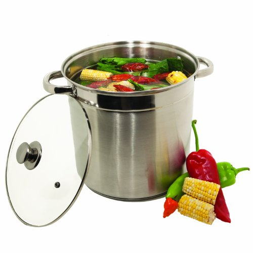 Heuck 12-Quart Encapsulated Stockpot with Glass lid