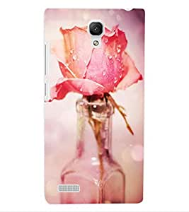 ColourCraft Love Rose Design Back Case Cover for XIAOMI REDMI NOTE
