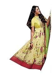 Elegance of Silk Women's Cotton Dress Material