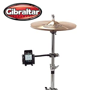 Gibraltar iPod/MP3 Stand Mount (SC-GMP3MNT) - Perfect for Singers, Guitarists, and Drummers - Secures iPod/MP3 Player to Mic, Music or Hardware stand.