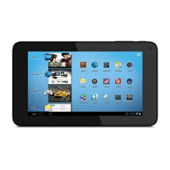 Coby Kyros 7-Inch Android 4.0 4 GB Internet Tablet 16:9 Capacitive Multi-Push Widescreen With Built-In Camera, Black MID7048-4