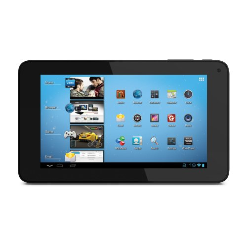 Coby Kyros 7-Inch Android 4.0 4 GB Internet Tablet 16:9 Capacitive Multi-Touch Widescreen with Built-In Camera, Black&#8230;