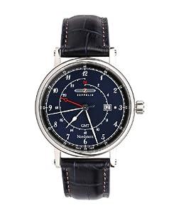 Zeppelin Watches Men's Quartz Watch 7546-3 with Leather Strap