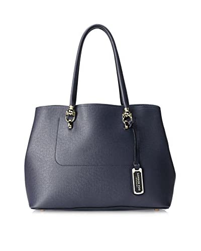 London Fog Women's Paley Tote Bag, Sapphire
