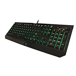 Razer Blackwidow Ultimate 2016 Clicky Mechanical Gaming Keyboard with 10 Key Rollover - Green Backlit