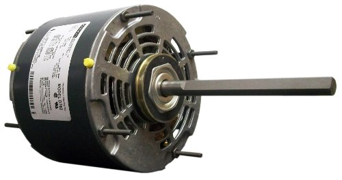 Fasco D780 5.6-Inch Direct Drive Blower Motor, 1/3 Hp, 115 Volts, 1625 Rpm, 3 Speed, 4.7 Amps, Oao Enclosure, Reversible Rotation, Sleeve Bearing