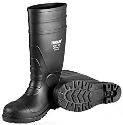 Tingley 31151 Economy SZ6 Kneed Boot for Agriculture, 15-Inch, Black