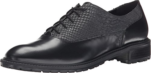 pictures of Dune London Women's Francis Black Leather Oxford 40 (US Women's 9) B (M)