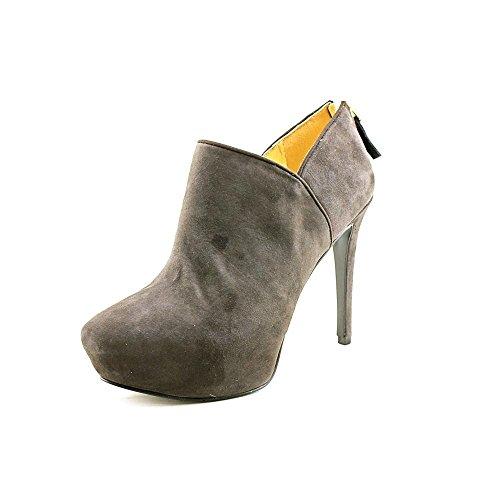 Nine West Women's Belanie Bootie,Dark Grey Suede,8.5 M US