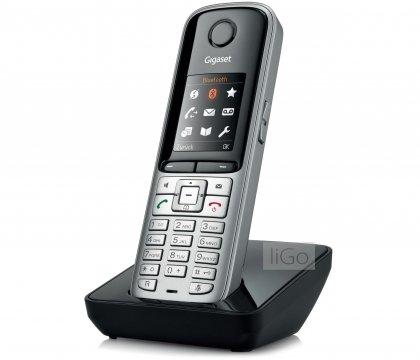 Siemens Gigaset DX600A TRIO SET mit 3x S810H Mobilteil - ISDN, Anrufbeantworter, Bluetooth® ECO DECT, schwarz