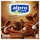 Alpro Soya Smooth Chocolate Dessert 4 X 125G