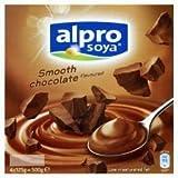 Alpro Soya Smooth Chocolate Dessert 4 X 125G