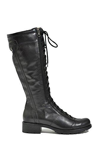 Nero Giardini Stivali anfibi nero 6461 scarpe donna A616461D 37