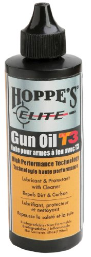 Hoppe's Elite Gun Oil with T3, 4-Ounce Bottle (Hoppe Oil compare prices)