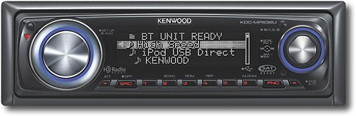 Kenwood Kdc-Mp638U Usb/Aac/Wma/Mp3 Cd Receiver With External Media Control