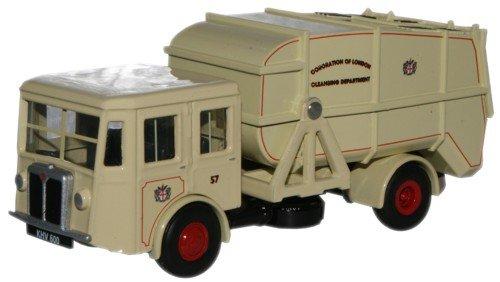 shelvoke-drewry-garbage-truck-dustcart-london-1-76th-scale-oxford-diecast
