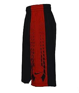 Nike Mens Hyper Elite Shorts X-Large Black/University Red/Black