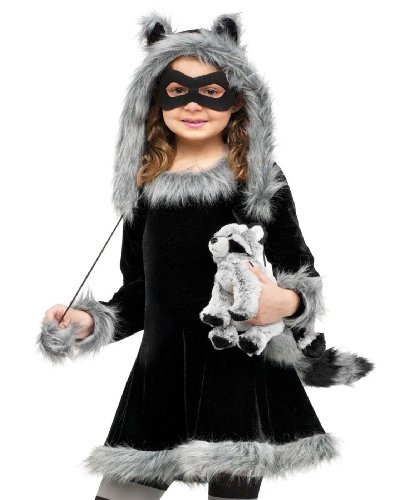 Fun World Sweet Fluffy Raccoon Costume