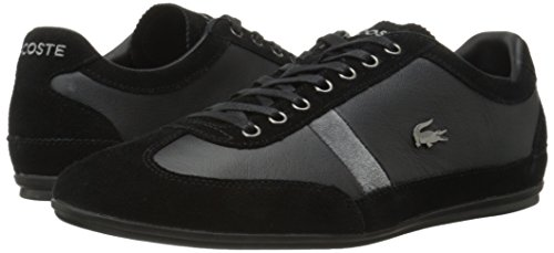 Lacoste Men's Misano 22 Lcr Casual Shoe Fashion Sneaker, black, 10.5 M US