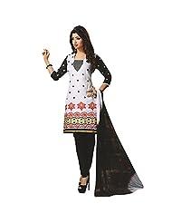 Siddhi Unstitched Cotton Printed Salwar Suit Dupatta Material ( SSHLPI-47AA )