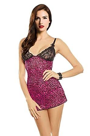 Ninimour- Sexy Lingerie Babydoll Underwear Bodysuit (Y5749)