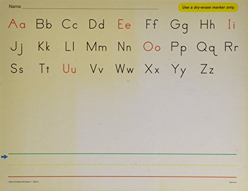 Write-On Wipe-Off Board Phonemic Desk Grade K (Harcourt School Publishers Collections)