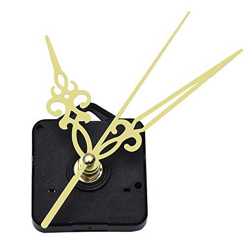 Mudder Quartz Wall Clock Movement Mechanism Golden Hands DIY