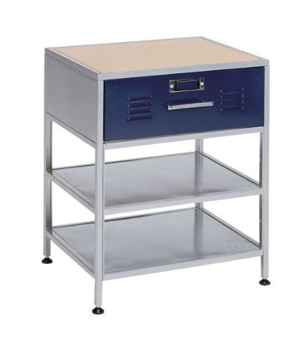 Cheap locker night stand 1 drawer nightstands for Night stand cost
