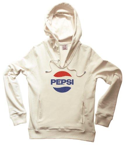 kapuzen-sweatshirt-v-neck-pepsi-70-glitter-logo-creme-originaldesign-grosse-xs