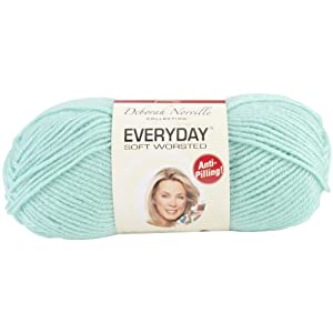 Premier Yarn Deborah Norville Collection 3-Pack Everyday Solid Yarn, Glass