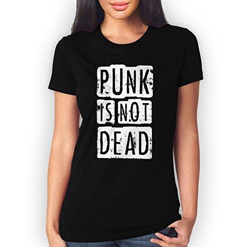 Punk Is Not Dead Uncolored XXL Donne T-Shirt