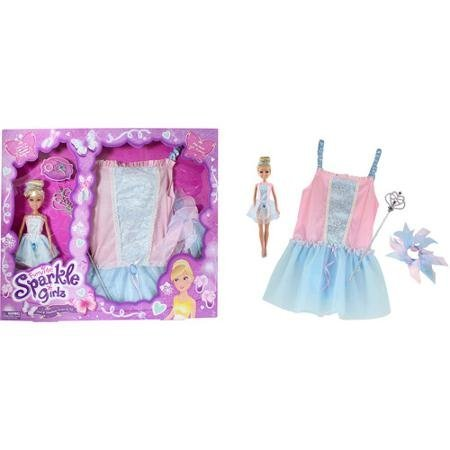Sparkle Girlz Doll & Matching Dress-up Set - 1