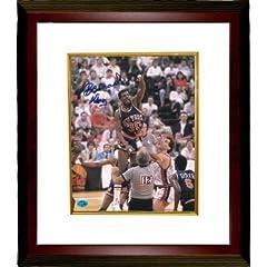 Bernard King Autographed Hand Signed New York Knicks 8x10 Photo Custom Framed (HOF...