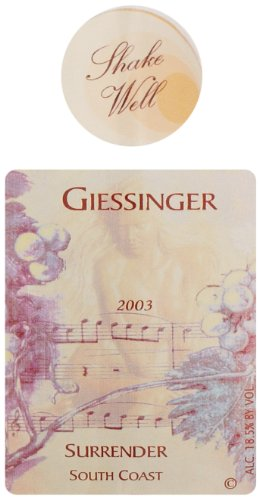 1999 Giessinger Surrender Chocolate Strawberry Port 375Ml